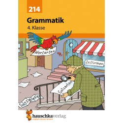 Hauschka Verlag - Grammatik 4. Klasse, A5- Heft