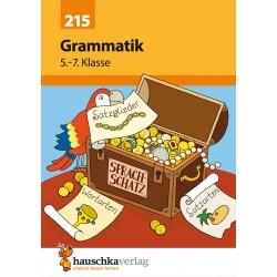 Hauschka Verlag - Grammatik 5.-7. Klasse, A5- Heft