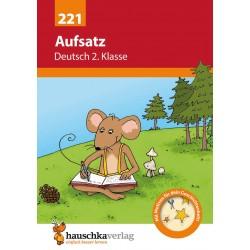 Hauschka Verlag - Aufsatz Deutsch 2. Klasse, A5- Heft