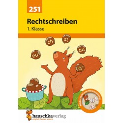 Hauschka Verlag - Rechtschreiben 1. Klasse, A5- Heft