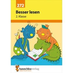 Hauschka Verlag - Besser lesen 2. Klasse, A5- Heft