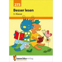 Hauschka Verlag - Besser lesen 3. Klasse, A5- Heft