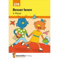 Hauschka Verlag - Besser lesen 4. Klasse, A5- Heft