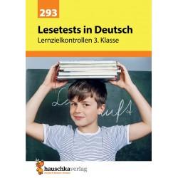 Hauschka Verlag - Lesetests in Deutsch - Lernzielkontrollen 3. Klasse, A4- Heft