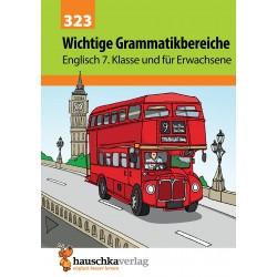 Hauschka Verlag - Wichtige Grammatikbereiche. Englisch 7. Klasse und für Erwachsene, A5-Heft