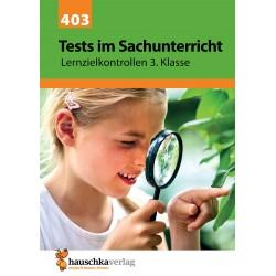Hauschka Verlag - Tests im Sachunterricht - Lernzielkontrollen 3. Klasse, A4- Heft