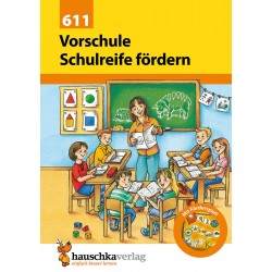 Hauschka Verlag - Vorschule: Schulreife fördern, A5-Heft