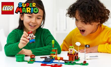 Entdecke LEGO® Super Mario™