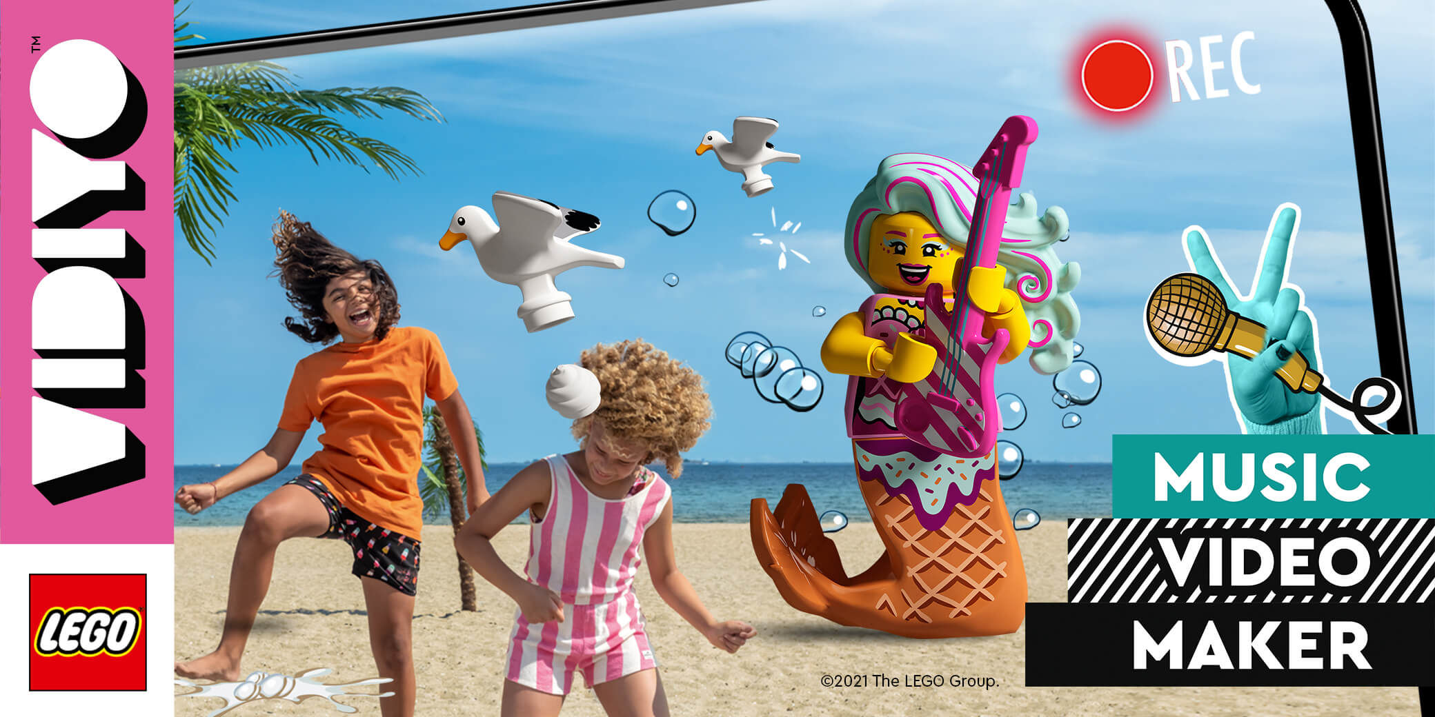 Entdecke LEGO® VIDIYO™